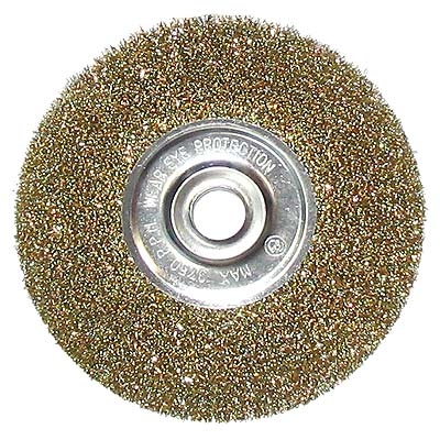 ЕРМАК Щетка металл. для УШМ 175мм/22мм, плоская
