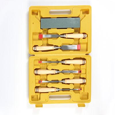 Набор стамесок с деревянной ручкой 7пр.