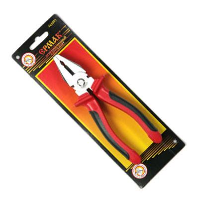 PROFI Пассатижи комбинированные с двухцветной ручкой 175мм