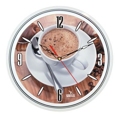 Настенные часы на кухню