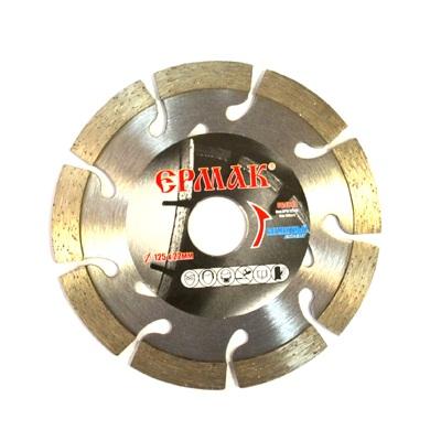 ЕРМАК Диск алмазный отрезной сегментный КЛАССИК 115х22,2мм