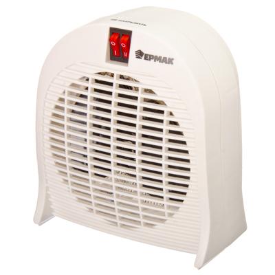 ЕРМАК Тепловентилятор ПРОМО-2015 (2 режима, 1000/2000Вт), термостат, защита от перегрева, индикатор