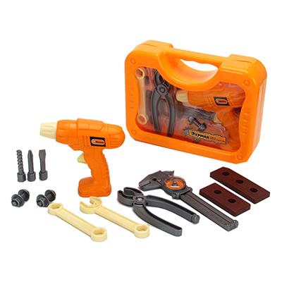 Набор инструментов детский 12пр, 26,5х19,5х7,5см, пластик ABC, 3+