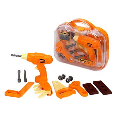 Набор инструментов детский 13пр, 28х26х9см, пластик ABC, 3+