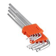 ЕРМАК Набор ключей TORX-профиль 9пр. (80х3мм-230х9мм)