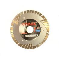 ЕРМАК Диск алмазный отрезной сегментный с защитными секторами 125х22,2мм