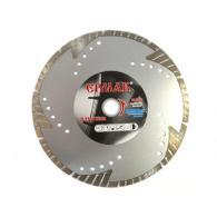 ЕРМАК Диск алмазный отрезной сегментный с защитными секторами 180х22,2мм