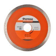 ЕРМАК Диск алмазный отрезной сплошной 125х22,2мм (1,2мм для реза плитки)