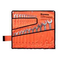ЕРМАК Набор ключей комбинированных 22 предм., 6-32мм, CRV матовые холодный штамп...