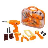 ЕРМАК Набор инструментов детский 12пр, 28х26х9см, пластик ABC, 3+