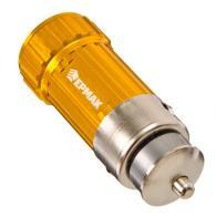 ЕРМАК Фонарь MINI зарядный от прикуривателя 1LED 3Вт, 5,8x2см,пит.встр. Ni-Mhак...