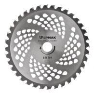 ЕРМАК Нож металл. (230x25.4x1,3х36T) c твердосплав. зубьями для бензот...