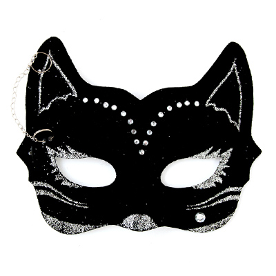 Карнавальная маска кошка своими руками