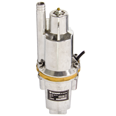 ЕРМАК Насос вибрационный НВ-250/25В, 250Вт, 16 л/мин, подъем 60м, кабель 25м,верх.водозабор