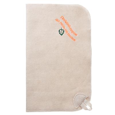Картинка Коврик банный с вышивкой, фетр, 80% шерсть, 20% полиэстер, 46x26x1,5см, 10 дизайнов в сети магазинов постоянных распродаж Галамарт
