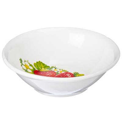 Картинка Клубника новая Салатник 270мл фаянс 092 в магазинах Галамарт - большой выбор самых разных предметов, необходимых на кухне