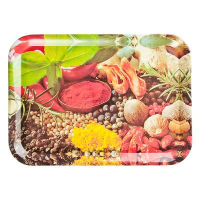 """Картинка VETTA Поднос пластик, 39х28см """"Специи"""", дизайн GC в магазинах Галамарт - большой выбор самых разных предметов, необходимых на кухне"""