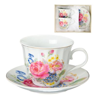 Картинка Английский сад Набор чайный 4 пр., 220мл, фарфор в магазинах Галамарт - большой выбор самых разных предметов, необходимых на кухне
