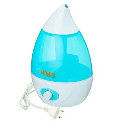 Картинка LEBEN Увлажнитель воздуха ультразвуковой 1,6л 20Вт в сети магазинов постоянных распродаж Галамарт