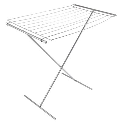 Картинка Сушилка для белья напольная, окраш.сталь, 8м в сети магазинов постоянных распродаж Галамарт