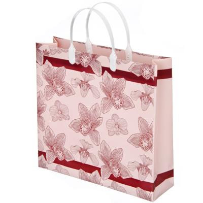 Картинка Пакет ламинат, мягкий пластик, 30х30см, Орхидеи в сети магазинов постоянных распродаж Галамарт