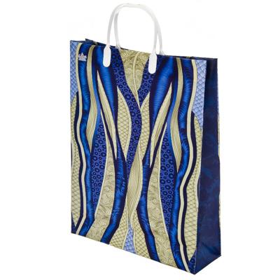 Картинка Пакет мягкий пластик, 40x30см, Ультрамарин в сети магазинов постоянных распродаж Галамарт