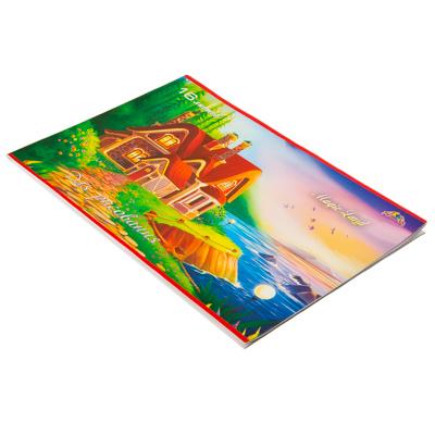 Картинка Альбом-тетрадь для рисования А4 16л, КТС, ассорти, арт.C3607 в сети магазинов постоянных распродаж Галамарт
