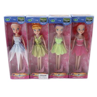 """Картинка Кукла """"Фея"""", пластик, текстиль, 23см, 4 дизайна, B1301134 в сети магазинов постоянных распродаж Галамарт"""