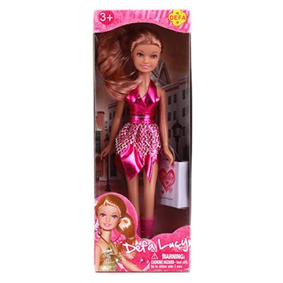 Картинка Кукла с аксессуарами, пластик, текстиль, 8220DEFA в сети магазинов постоянных распродаж Галамарт