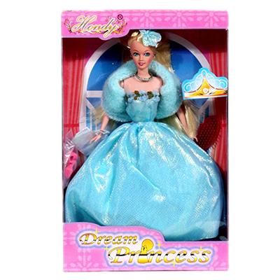 Картинка Кукла гнущаяся с аксессуарами, пластик, полиэстер, 29см, 33244-6 в сети магазинов постоянных распродаж Галамарт
