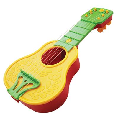 Картинка ПЛАСТМАСТЕР Гитара со струнами, пластмасса, 25х11х3,5см, 22128 в сети магазинов постоянных распродаж Галамарт