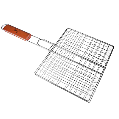 GRILLBOOM Решетка-гриль хром., 21х25х2см, эконом - фото товара