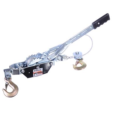 ЕРМАК Лебедка ручная рычажная TR8021 2т, длина троса 2,5м - фото товара
