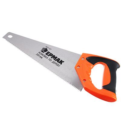 ЕРМАК Ножовка по дереву, 350мм, зуб 5мм. - фото товара