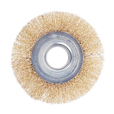 ЕРМАК Щетка металл. для УШМ 100мм/22мм, плоская - фото товара