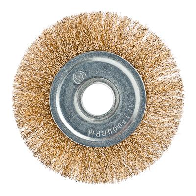 ЕРМАК Щетка металл. для УШМ 125мм/22мм, плоская - фото товара