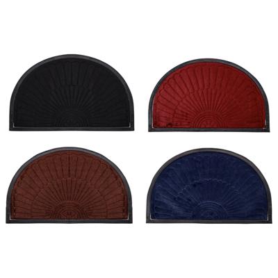VETTA Коврик в прихожую с резиновой каймой, полиэстер, резина, 50х80см, 4 цвета, CR001 - фото товара