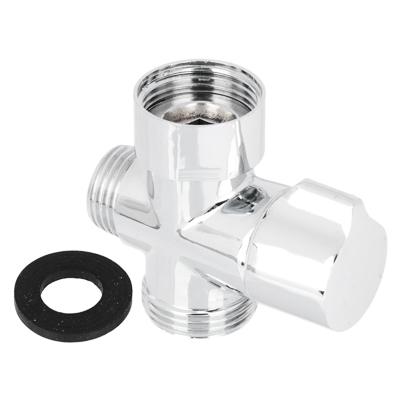 Дивертор (переключатель душа) для смесителя поворотный - фото товара