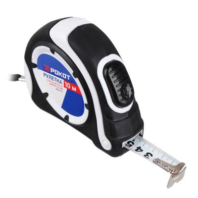 FALCO Рулетка карманная STATUS автостоп (10м х 25мм) - фото товара