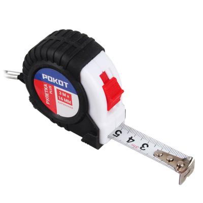 FALCO Рулетка карманная PLUS, 3мх16мм - фото товара