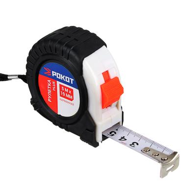 FALCO Рулетка карманная PLUS, 5мх19мм - фото товара