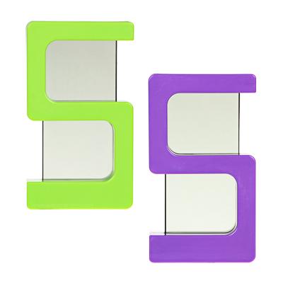 LADECOR CHRONO Будильник электронный  Пятерочка  многорежимный, пластик, 12х7см, 2 цвета - фото товара