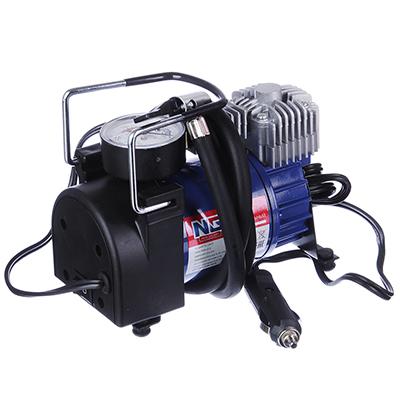 NEW GALAXY Компрессор автомобильный, штекер прикур, в сумке, 12V, 140W, 35 л/мин, металл - фото товара
