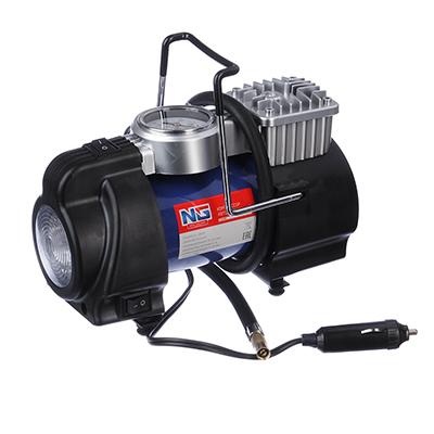 NEW GALAXY Optima Компрессор АС6220, 180вт, 50л/мин, c LED фонарем, в сумке, Omicron - фото товара