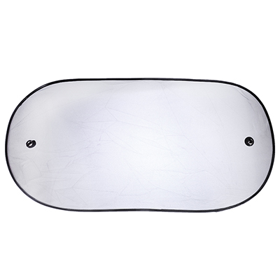 NG Шторка солнцезащитная на заднее стекло на присоске 100x50см, черная, 110078 - фото товара