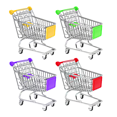 Фото товара VETTA Тележка для мелочей,  Супермаркет , металл, 14х13,5х9см