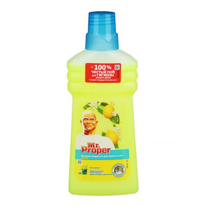 Жидкость для мытья полов и стен MR PROPER Лимон, п/б 500мл - фото товара