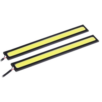 NEW GALAXY Дневные ходовые огни, LED 20шт, метал. корп., 142мм, 12V, белый, 2шт. - фото товара