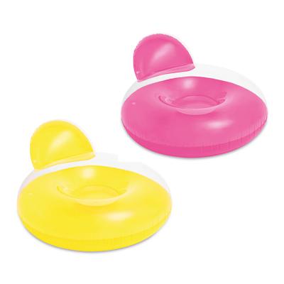 INTEX Круг для купания  Кресло , 137х122см, 2 цвета, 58889 - фото товара