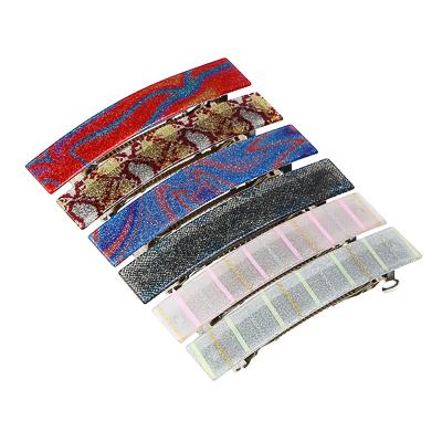 BERIOTTI Заколка для волос, металл, пластик, 10см, 6 цветов, 4462-1 - фото товара